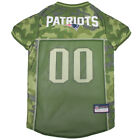 New England Patriots NFL Pets First Licensed Dog Pet Mesh CAMO Jersey XS-XL NWT $27.97 USD on eBay