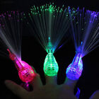 6154 Finger Light Up Ring LED Party Favors Glow Decor Peacoc