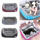Deluxe Soft Washable Dog Pet Warm Basket Bed Cushion Sofa Bed with Fleece Lining
