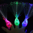 0596 Finger Light Up Ring LED Party Favors Glow Decor Peacoc