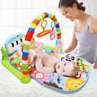 3 In 1  Baby Gym Play Blanket Mat Bed Infant Activity Carpet Fitness Toys Music