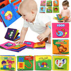 Внешний вид - Soft Cloth Baby Kid Intelligence Development Learn Picture Cognize Book Toy Lot