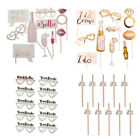 Внешний вид - Wedding Hen Party Team Bride To Be Photo Booth Props Straws Glasses Accessories