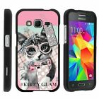 For Samsung Galaxy Core Prime / Prevail LTE Hard Fitted 2 Piece Snap On Case