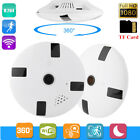 1080P Wireless WIFI IP Camera 360 Degree Panoramic Camera IR Indoor Surveillance