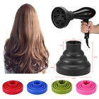 Travel Portable Silicone Folding Hairdryer Diffuser Cover Hair Dryer Tool 1pc US