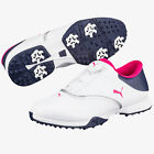 PUMA Women's Blaze Disc Golfschuhe, white-bright rose-peacoat, wasserdicht