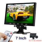 "US- 10"" / 7"" CCTV Monitor PC Screen AV RCA VGA HDMI 1080p for DSLR Raspberry Pi"