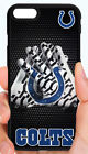 INDIANAPOLIS COLTS NFL PHONE CASE COVER FOR iPHONE X 8 PLUS 7 6 6S PLUS 5S 5C 4S $14.88 USD on eBay