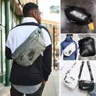 Unisex Canvas Messenger Bag Mens&Women Big Sport Shoulder Wa
