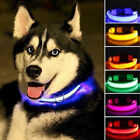 New Sale Fancy LED Flashing Collar For Pets Dog Cat Night Safety Light Luminous