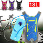 18L Bike Bicycle Cycling Hydration Pack Backpack with 2L Water Bag Hiking Sports