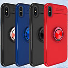 For Apple iPhone XS Max/XR Shockproof Ring Armor Defender Stand Slim Case Cover $9.42 USD on eBay