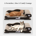 Pet Dog Cat Board Lounge Scratcher Post Play Rest Bed Pad Cushion Soft Cardboard