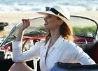 Quality Ladies GENUINE Panama Hat AUTHENTIC Womens straw hat ROLLABLE wide brim