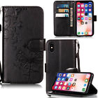 For Motrola Moto G6 Play E5 Plus Samsung Note 9 Wallet Flip Leather Cover Case