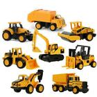 8Styles Mini Alloy Engineering Car Tractor Toy Dump Truck Model Classic Toy Cars