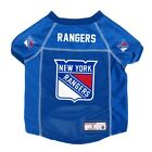 New York Rangers NHL LEP Dog Pet Mesh Jersey, Blue Licensed Sizes XS-XL $33.96 USD on eBay