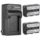Kastar Battery Wall Charger for Sony NP-FM50 NP-FM30 FM50 FM50 NP-FM55H NP-QM51