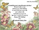 (See all 43 styles) Personalized Poem Gift 4 that Special Person's 40th Birthday