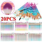 20PCS make up Blending Details Eyebrow Eyeshadow Eyelash Powder Lip Brushes Set