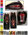 Motorcycle decal graphics pinstripe Victory Harley Honda Yamha Sport Bike set $49.99 USD on eBay