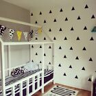 Mini Diy Decor Children Vinyl Stickers Wall Sticker Home Decals Triangle Decal