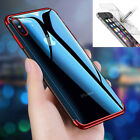 Tempered Glass Screen Protector Bling TPU Electric Frame Bum