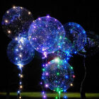 US Light Up LED Balloon Light Colorful Luminous Birthday Party Wedding Decor