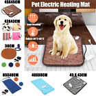 Pet Dog Cat Waterproof Electric Heating Pad Heater Warmer Mat Bed Blanket New