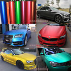 10ft X 5ft Car Part Body Wrap Satin Matte Metallic Chrome Vinyl Sticker Film Bo