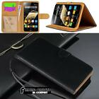 Black Magnetic Flip Cover Stand Wallet Leather Case For Various Zopo Smartphones