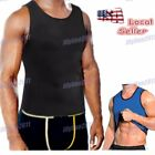 compression body shaper men undershirt vest tummy