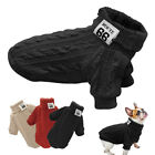 Winter Dog Sweater Clothing for Small Dog Kitten Puppy Chihuahua Clothes 3 Color