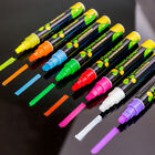 Colorful Dual Nib Liquid Chalk Highlighter Fluorescent Neon Marker Pen Pencil