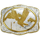 Crumrine Patriotic Western Belt Buckle