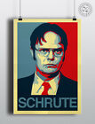 DWIGHT SCHRUTE- The Office US 'Hope' Poster Shepard Fairey style by Posteritty