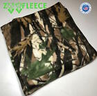 "ZooFleece Green Tree Camouflage Camo Hunting 60X60"" Linen Blanket Throw Quilt"