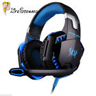 EACH G2000 Game Gaming Headset 3.5mm LED Stereo PC Headphone Microphone LOT FG