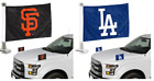 MLB 2-pack Ambassador Car Hood Flags Two Sided on Ebay