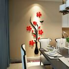 3d Diy Flower Decal Wall Stickers Removable Home Room Decoration Applique Dr