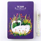 128 Sheets Paper School Students Drawing Personal Diary Journal Notebook UM