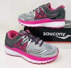 Saucony Women's Hurricane ISO 3 Running Shoe Pick A Size Wide Grey/Pink/White