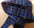 Pride of Scotland Modern 16 or 25mm wide double sided polyester ribbon 1 metres