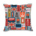 London Square Home Bed Car Sofa Decor Waist Cushion Throw PillowCase Pillow Slip