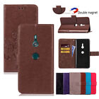 Printing Flip Card Wallet Magnetic Leather Stand Case Cover For Sony Xperia XZ3