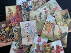 BB31C Lot of 14 Vintage Flower Fairies #C DIE CUTS for CARD MAKING Free Shipping