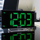 Digital Radiowecker mit Projektion LED Display Snooze Wecker dimmbar Uhrenradio