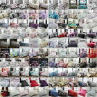 New Premium Quality Printed Duvet Quilt Cover Bedding Set Double Size All Colors image