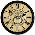 Galeries Lafayette Battery Operated  Wall Clock Ultra Quiet , Non ticking Home D